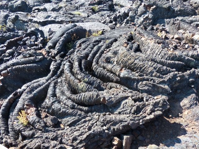 Lava frozen in time at Craters of the Moon