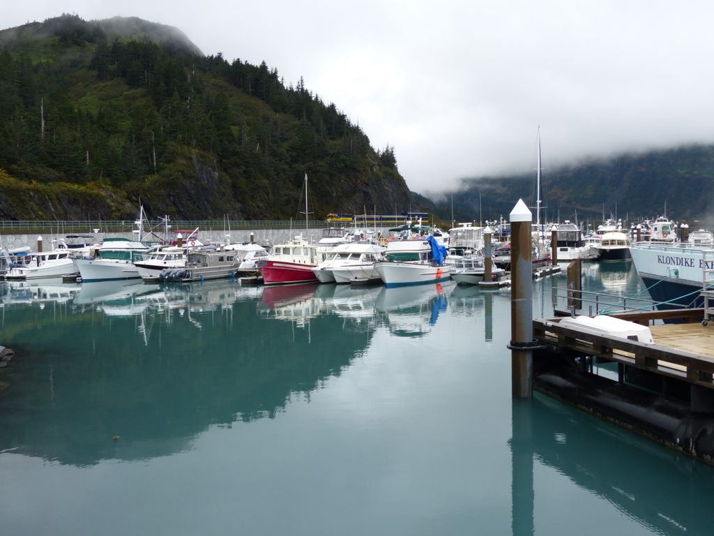 The port at Whittier
