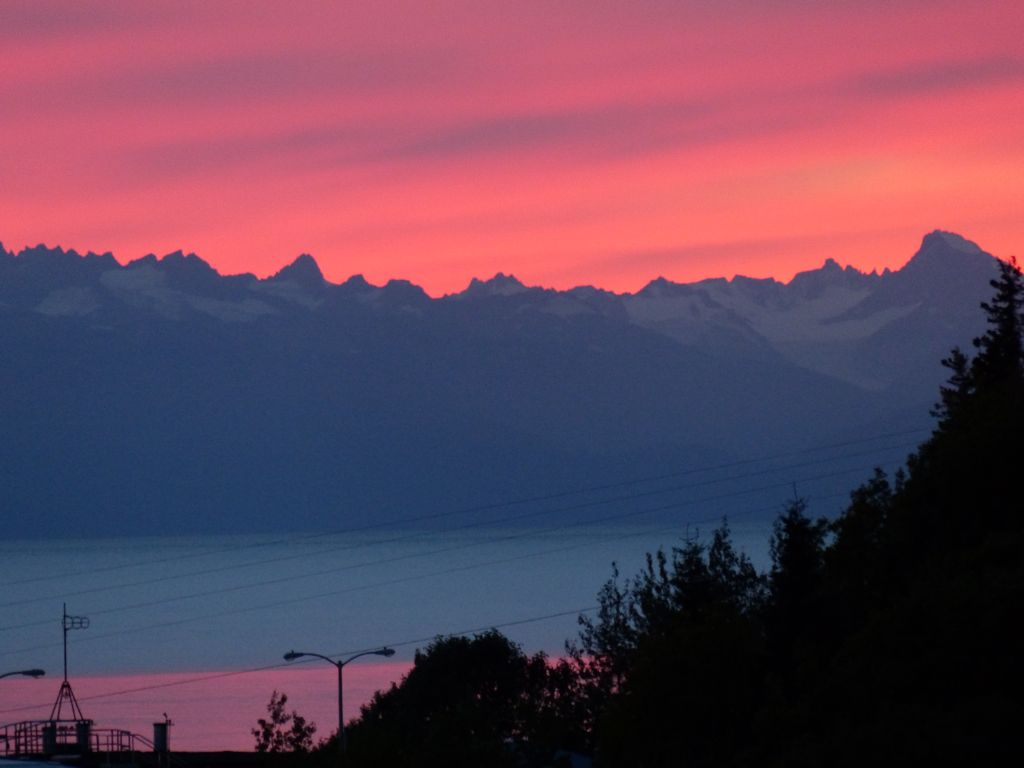 Another great sunset from our bluff-top campground