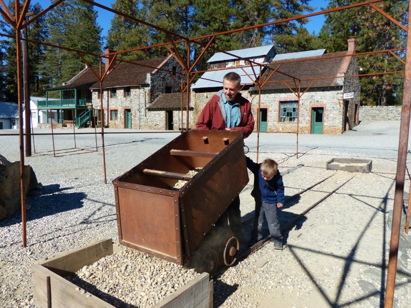 The Empire Mine in Grass Valley was once the biggest gold mine in California