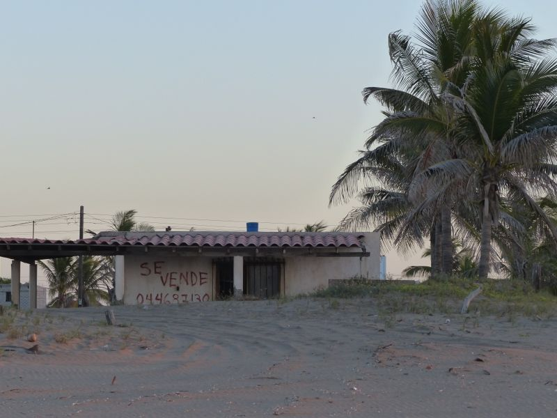 Beachfront property for sale.