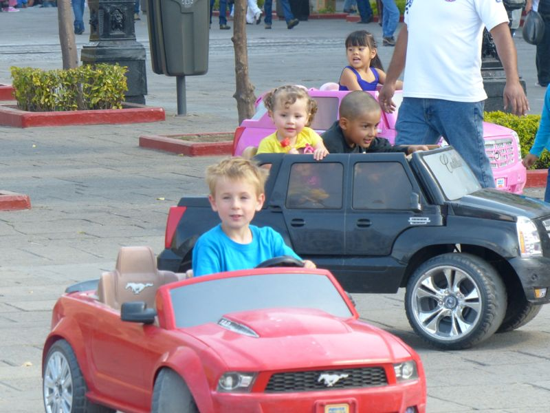 What a great business. Rent out little battery operated cars. Q loved it so much we did it twice.