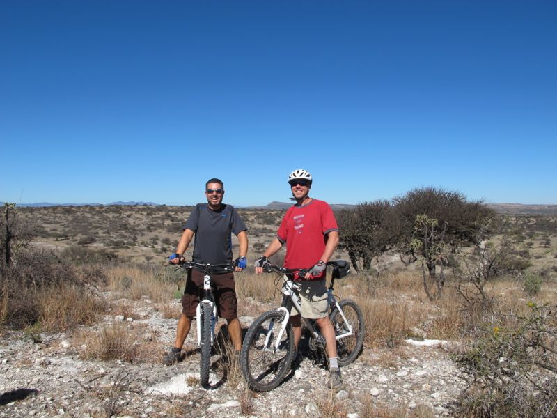 I rode with Michael, a Swiss guy we met in Guanajuato. He and his wife are traveling to South America in a Land Rover similar to the one we had in Africa.