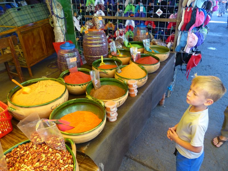 At the market in Tlacolula
