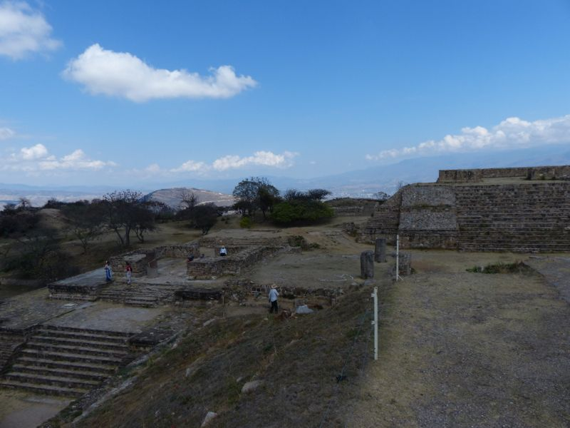 From the top of Monte Alban