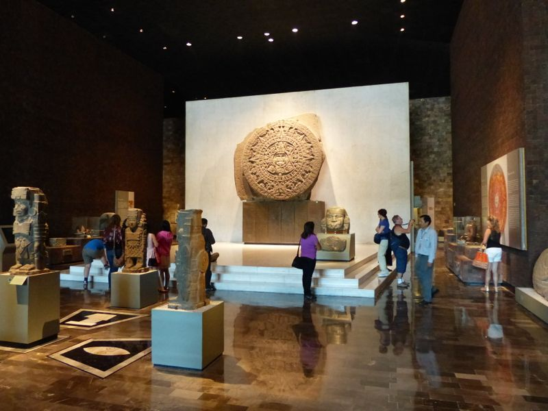 It's world-renowned, with exhibits covering the people of México from prehistoric to present times.