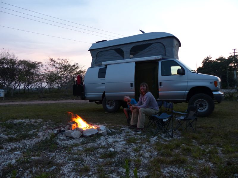 We enjoyed our first campfire since the Baja Peninsula