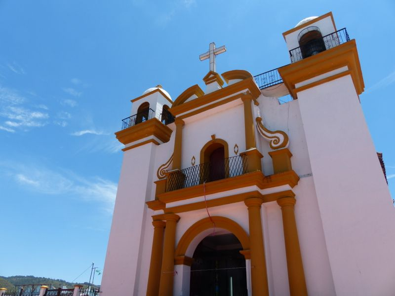 San Cristobal is set at 7000 feet and we enjoyed the cool climate.