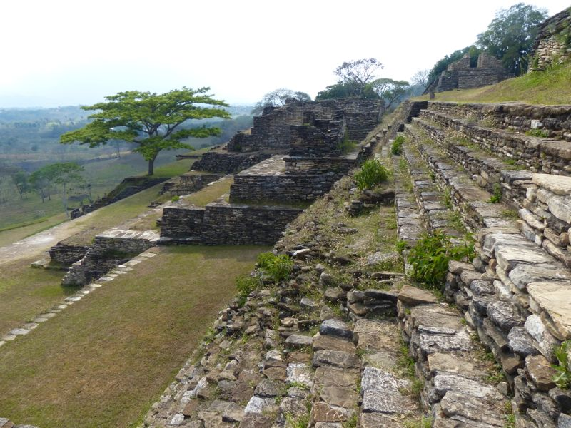 The ruins at Tonina were uncrowded and very impressive.