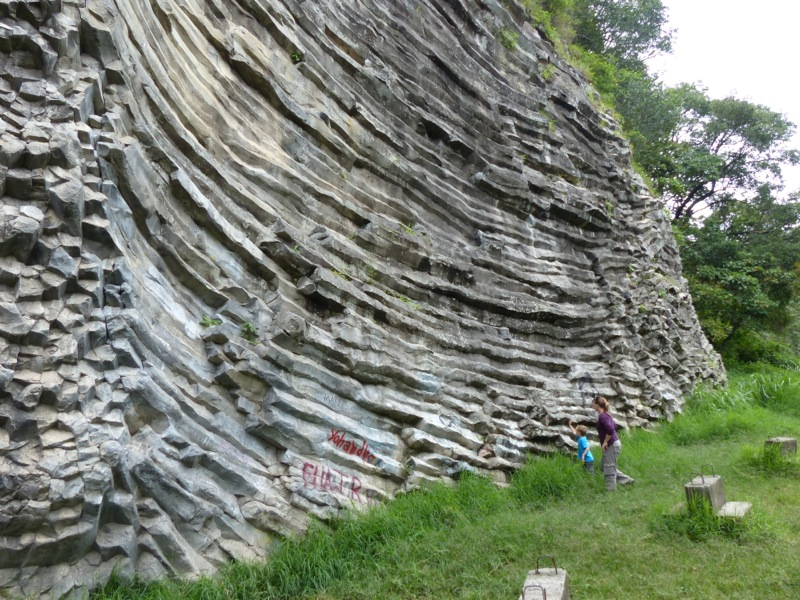 """There's an interesting geological feature outside of town called """"Los Ladrillos."""" It's a popular rock climbing spot."""