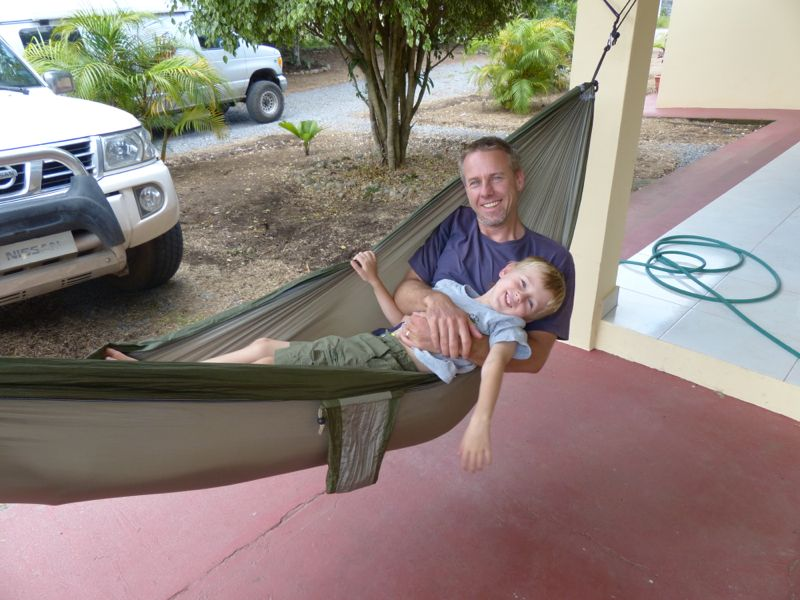 Hammock time at the house