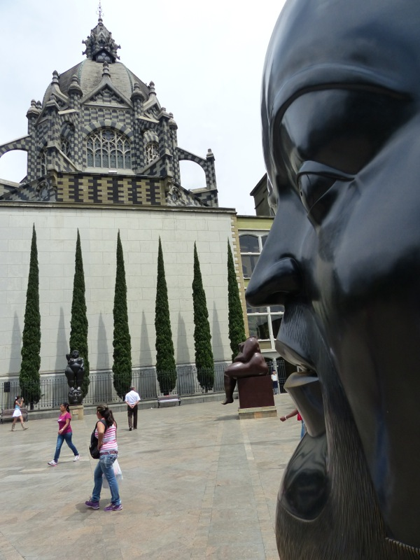 Downtown Medellin had a sculpture garden featuring some very interesting pieces.