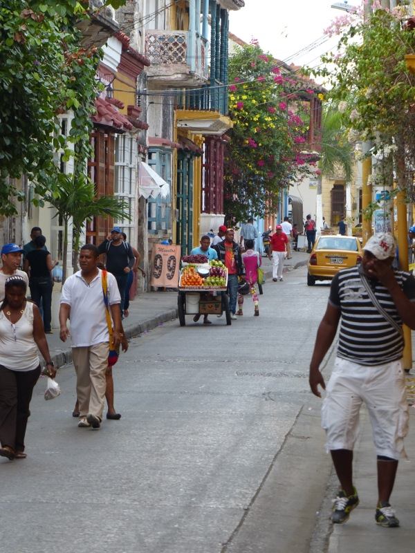 Our first night in Cartagena was spent in the colorful Getsemani neighborhood.