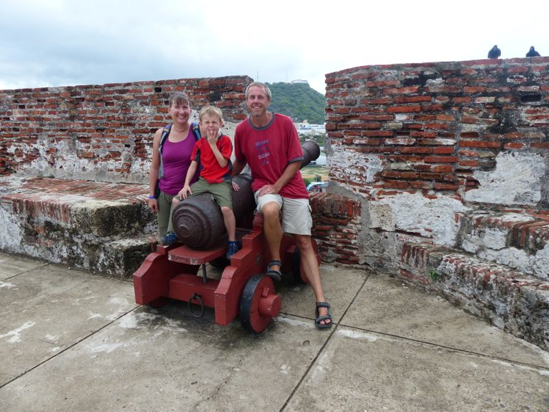 We spent another couple of days doing some sightseeing in Cartagena before departing.
