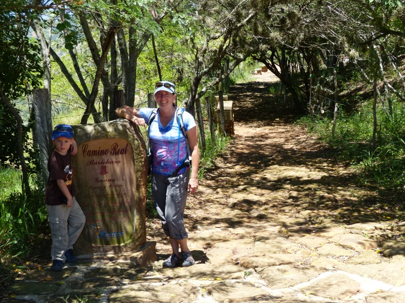 We made the 9km trek along the camino real to the town of Guane. If possible, Guane was even quieter than Barichara. A bus ride back made for a great outing.
