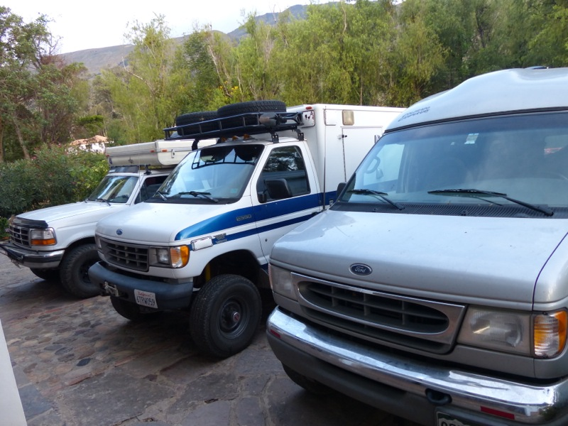 Three Fords all made it to South America!