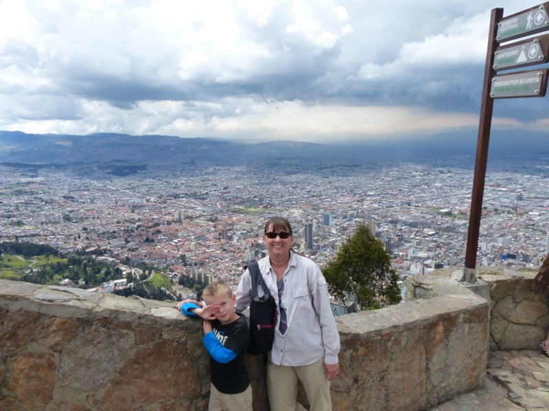 We took a funicular ride to the top of a nearby mountain for a view over the city.