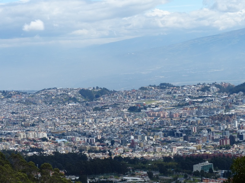 We rode the Teleferico (gondola) to a viewpoint above the city.
