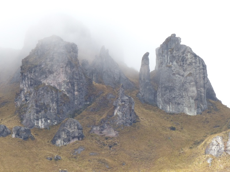 I've never been to Scotland, but with the rain and fog, it seemed like what I would expect hiking there.