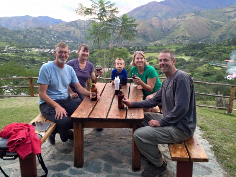 We arrived in Vilcabamba the next day where we are staying in a wonderful German-run hostel just outside of town.