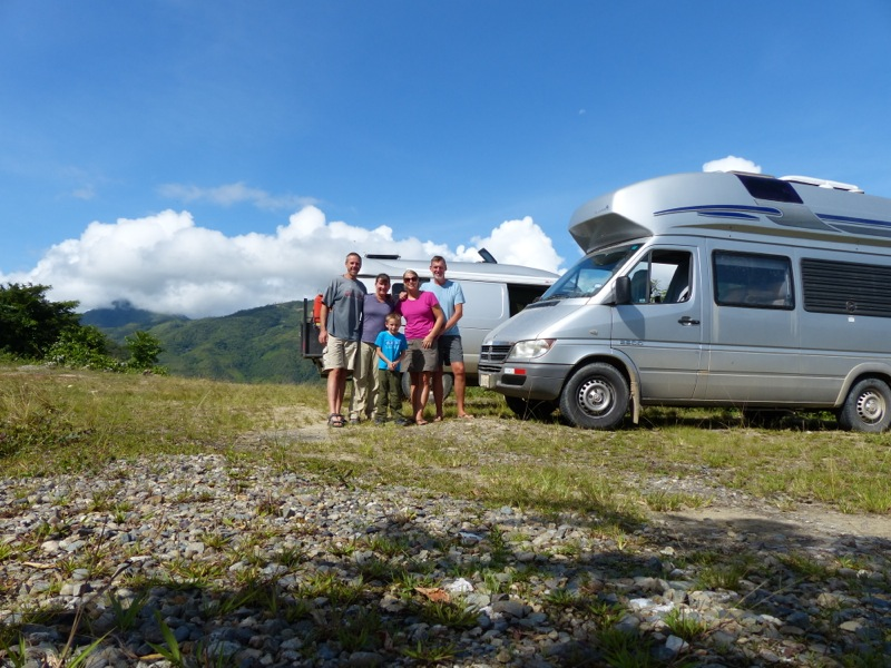 After a late afternoon border crossing we drove a short distance into Peru and found a spot to camp for the night.