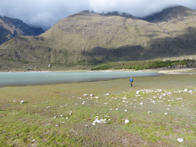 The next day, after a stop to wash our cars, we arrived at the Llanganuco Mountain Lodge, which  borders on Huascarán National Park.
