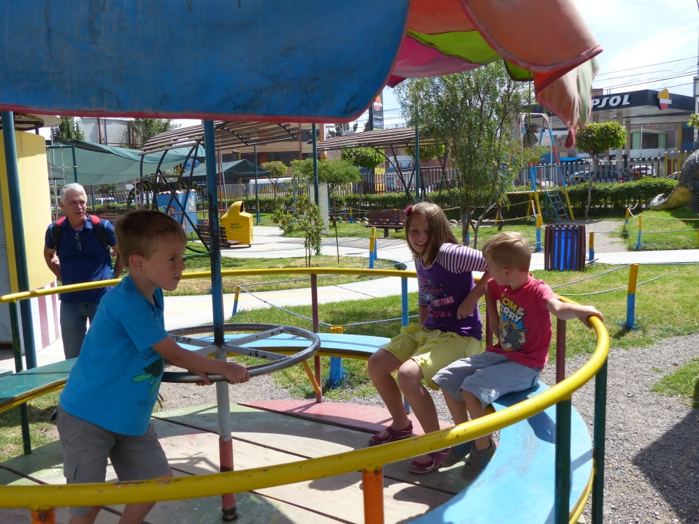 We met up with Michelle, Matt and their kids Emilia and Matthew for some fun at the park.