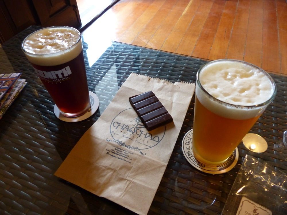 After the mummy museum it was time for a beer. We found the local craft beer club where we enjoyed a brown and an IPA along with some chocolate.