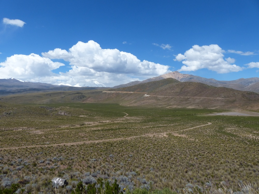 The first part of the drive was mostly above 12,000 feet. The road was dusty and the scenery stunning.