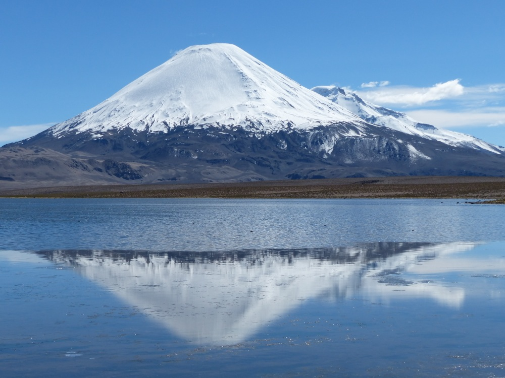 This picture is taken from the main road in the no-man's land between the Chilean and Bolivian border posts.