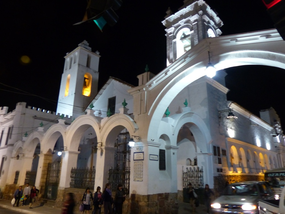 The city of Sucre was one of the first cities in Latin America to gain independence from Spain. It is still the official capital of Bolivia, even though the seat of government is in La Paz.