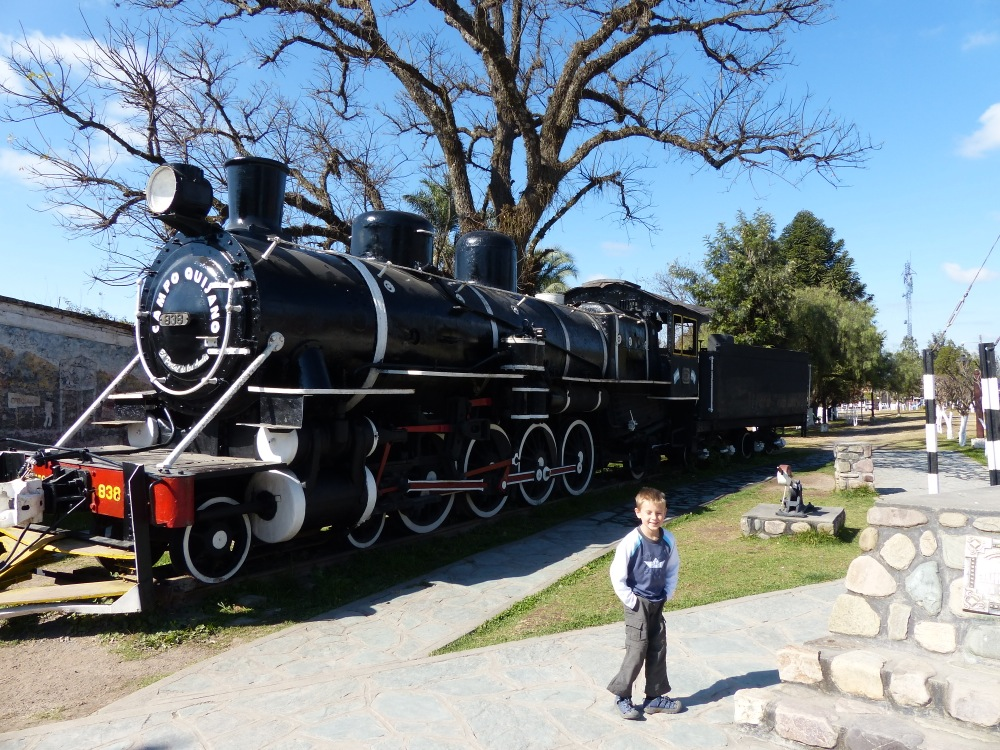 We stop for every steam engine we see.