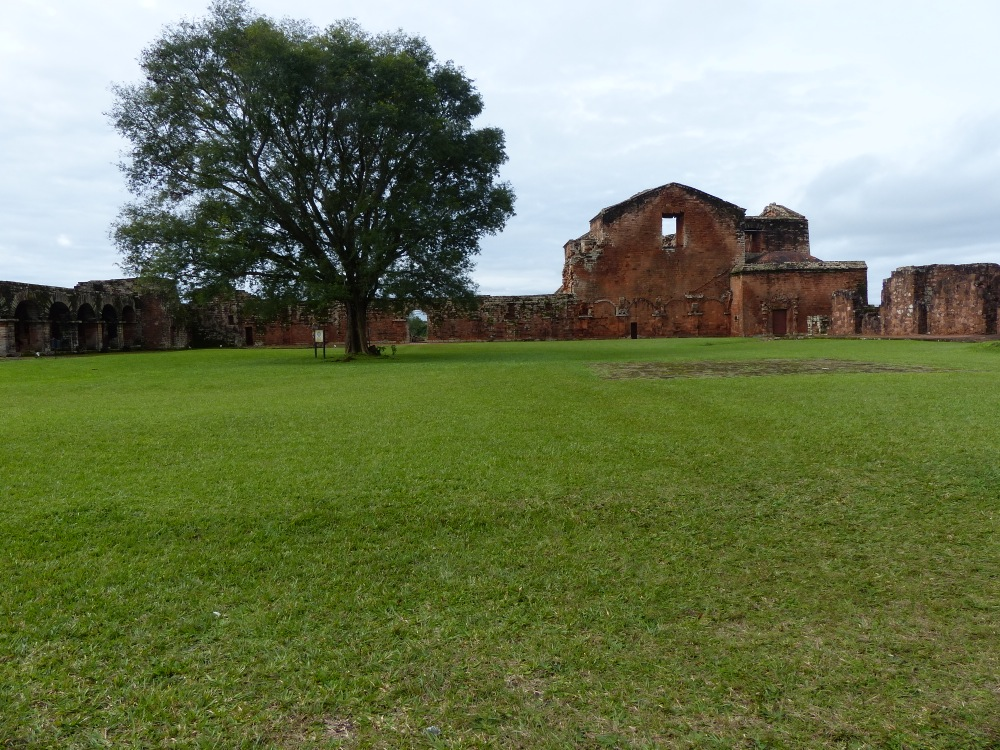 The next day we stopped to visit the ruins of a couple of Jesuit missionary churches.
