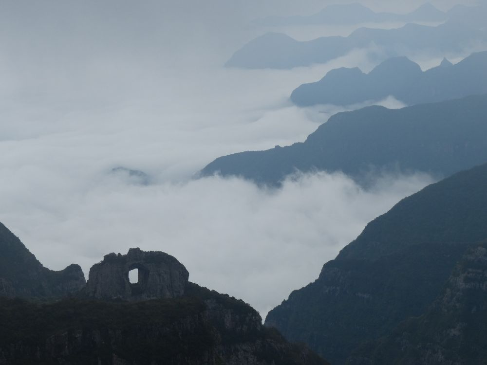 This overlook is near the highest point in Brazil. It was foggy and overcast, but beautiful nonetheless.