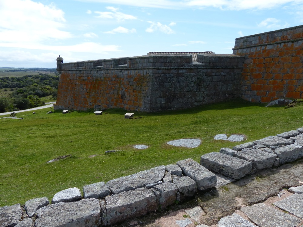 We stopped to see a Portuguese fort on our way into Uruguay. It was very well kept up and contained a nice little museum.