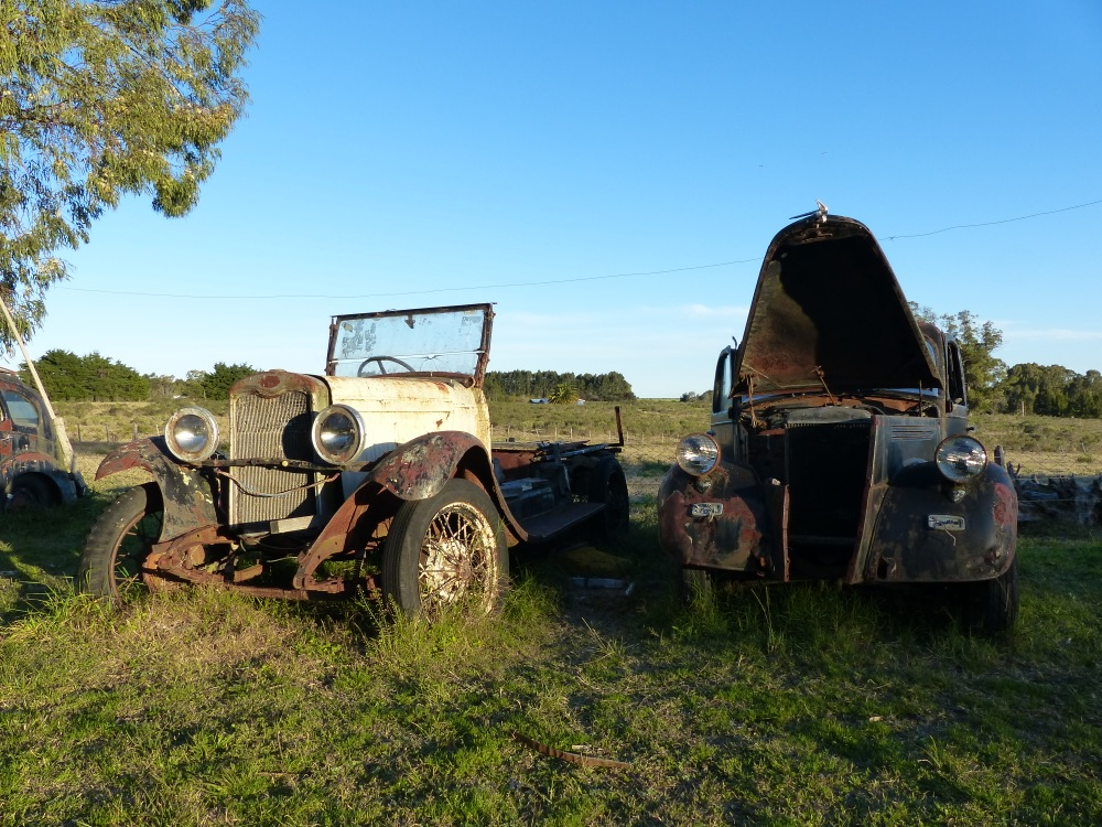 We noticed that Uruguay seems to have a large population of vintage cars. No idea why we saw so many here.