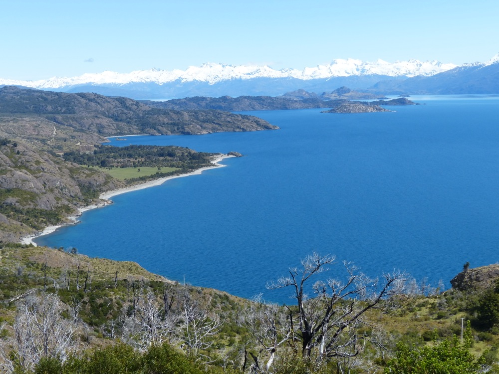 The lake is the second largest in South America, and we spent several hours following it's coastline.