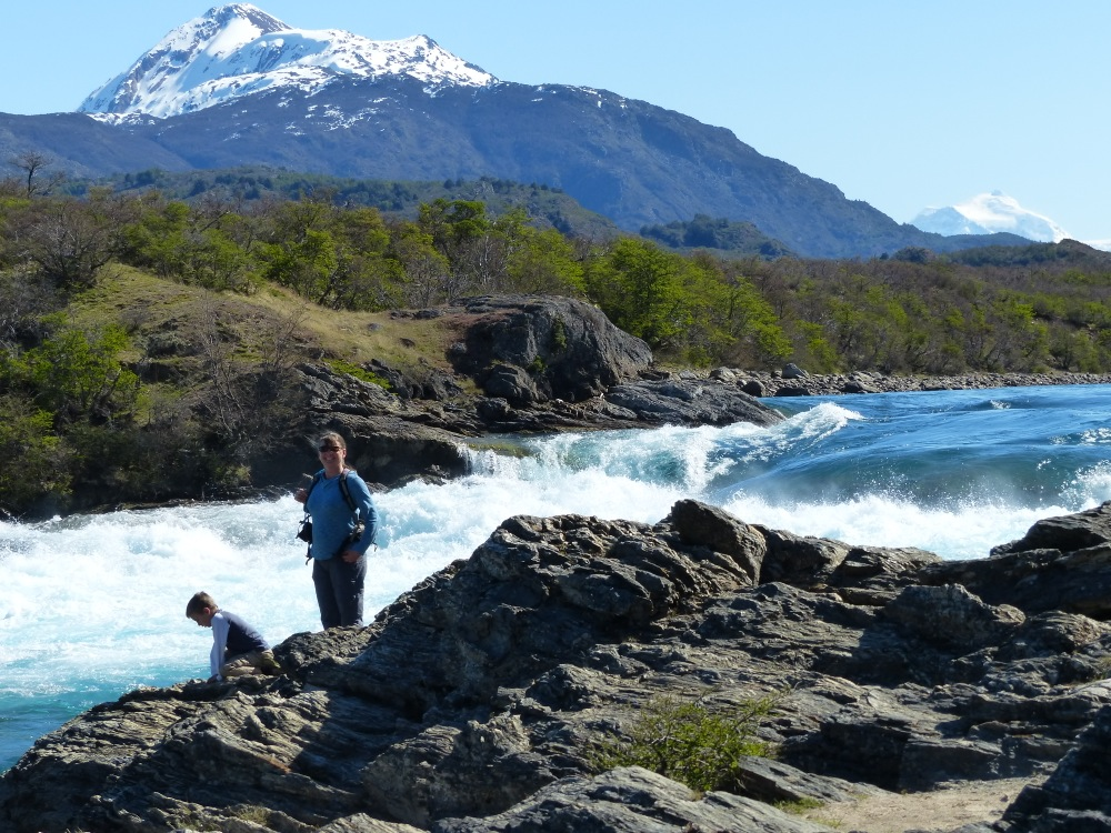 Our friends in Chile Chico recommended that we visit the confluence of the Baker and the Neff rivers.