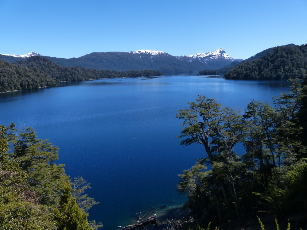 The drive north through Argentina's lake district was amazing, with beautiful scenery around every turn.