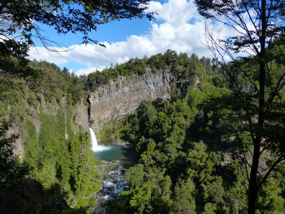 Our next stop on our way North was at the Siete Tazas (seven cups) waterfalls.