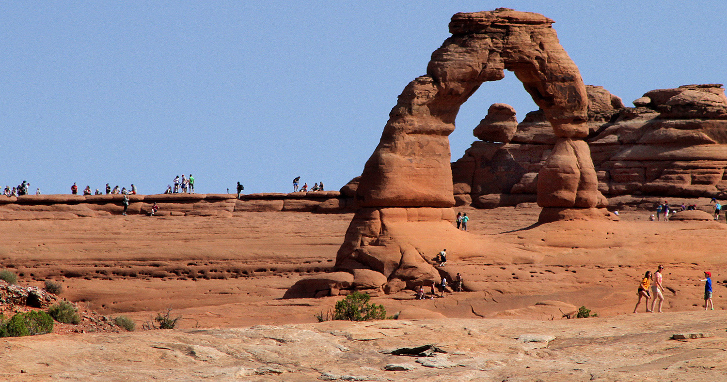 Last spring Arches National Park had to be close briefly due to traffic congestion.