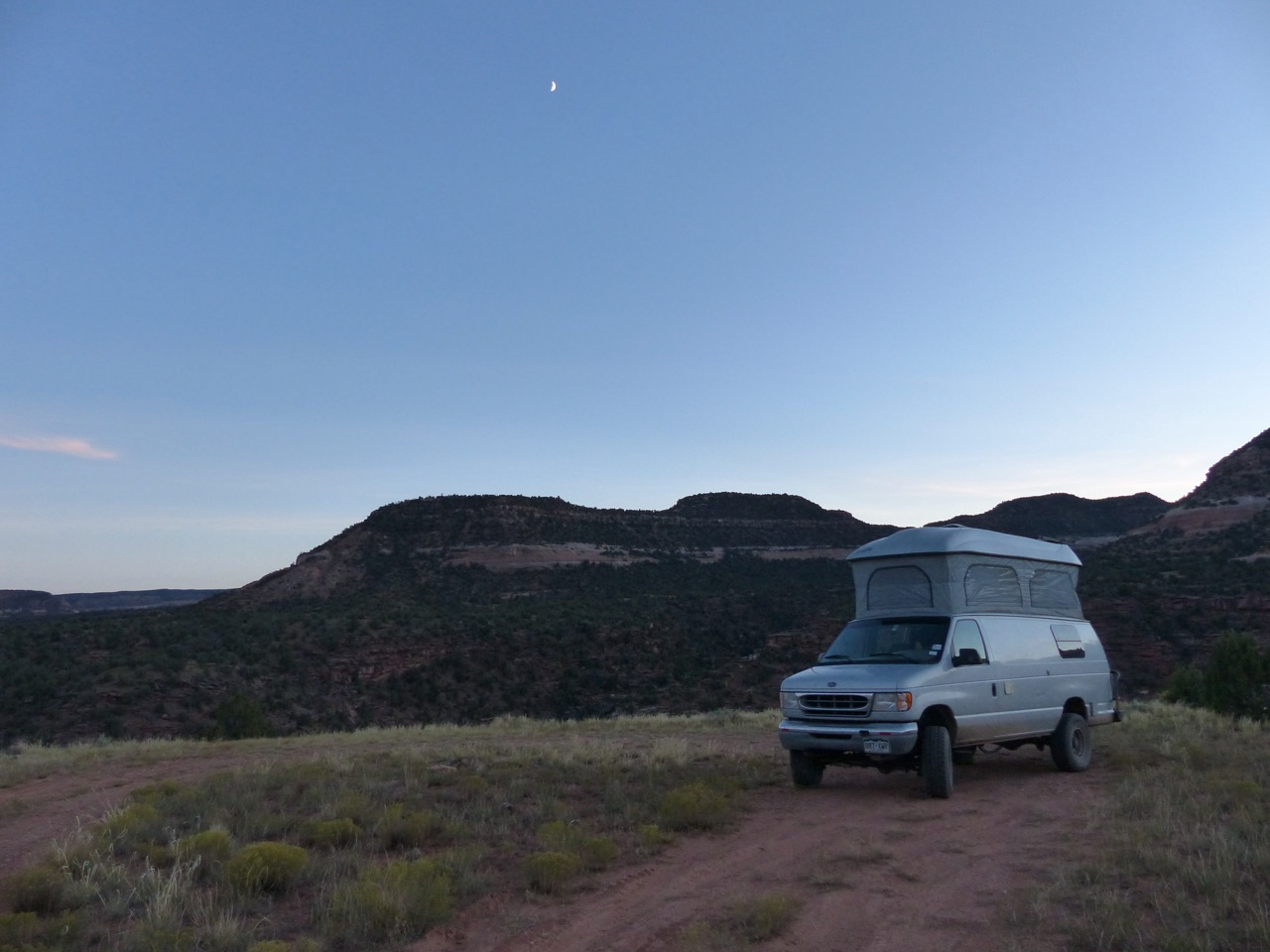 Finding a secluded campsite is no problem. And for star gazers, the skies don't get much darker.